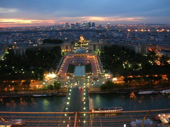 City lights twinkle on · More photos. We went to the Eiffel on Sat. Sept.
