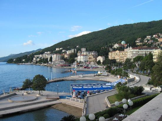 Opatija, Croatia: View From Hotel