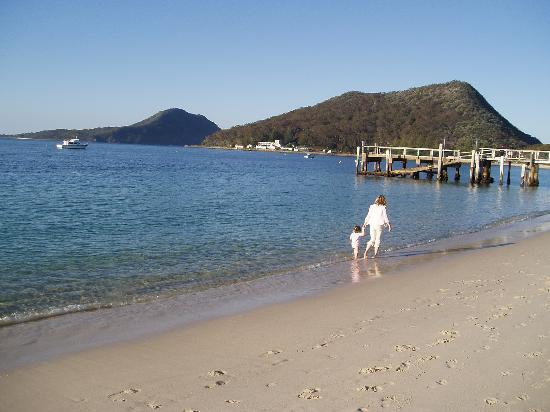 Shoal Bay, Australia: our holiday
