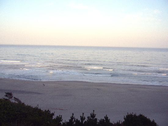 Nordic Oceanfront Inn: Ocean surf in the morning