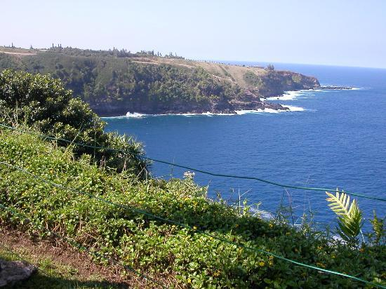 Haiku, Hawaï: Ocean and Cliffside View
