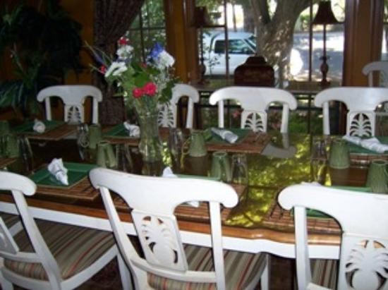 Inn and Spa at Parkside: Diningroom, where we had breakfast