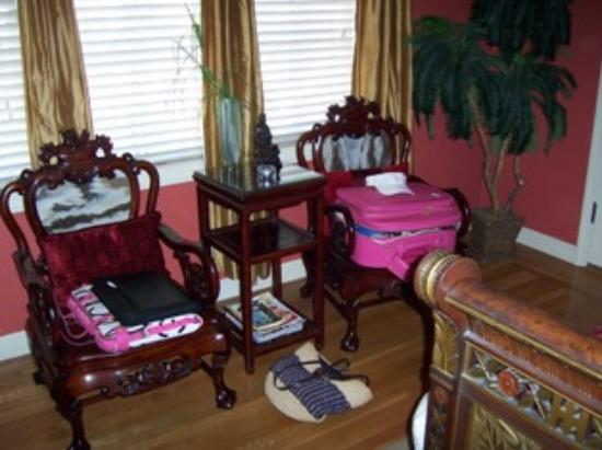 "‪‪Inn and Spa at Parkside‬: Beautiful furniture and our ""stuff""‬"