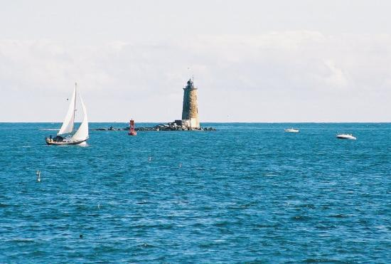Portsmouth, Nueva Hampshire: Whaleback Lighthouse