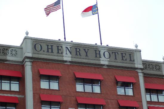 O. Henry Hotel: Hotel Exterior
