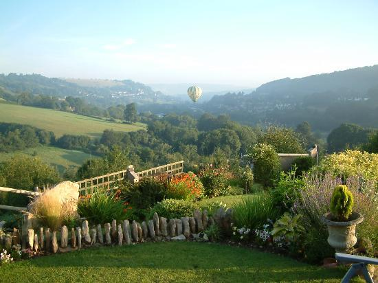 Stroud, UK: early morning in the valley