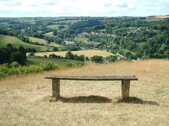 Stroud, UK: a resting place to watch the world go by