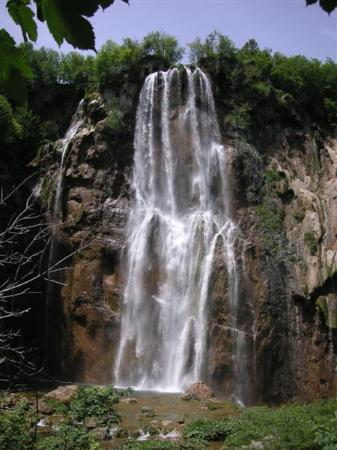 Plitvice Lakes National Park, : Yet another waterfall