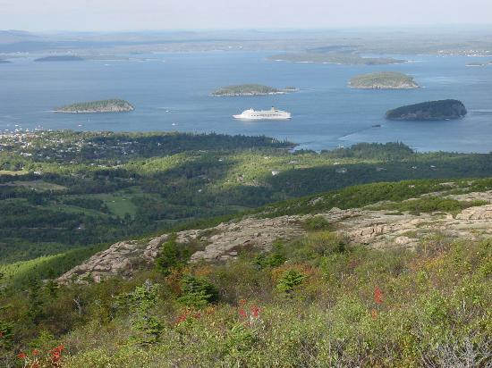 Rockland, Мэн: Acadia's Cadillac Mountain and Bar Harbor