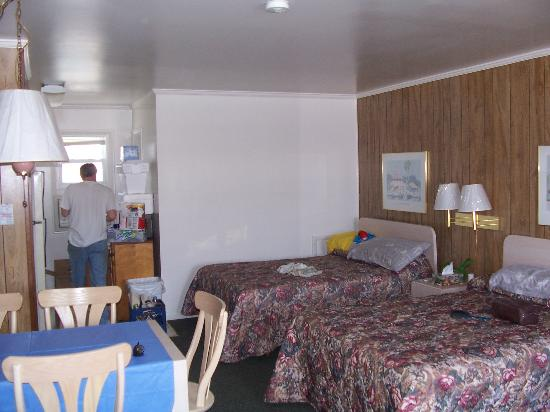 Ocean Mecca Motel: Sleeping Area