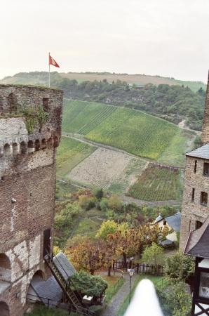 Castle Hotel Auf Schoenburg: the view from our terrace