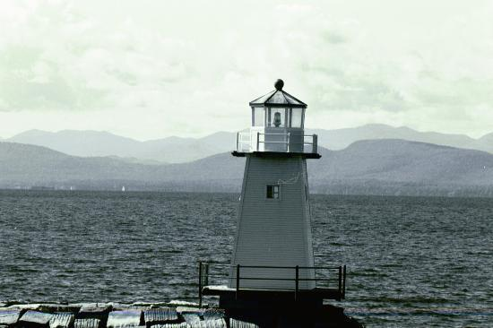 Burlington, VT: Lake Champlain Lighthouse