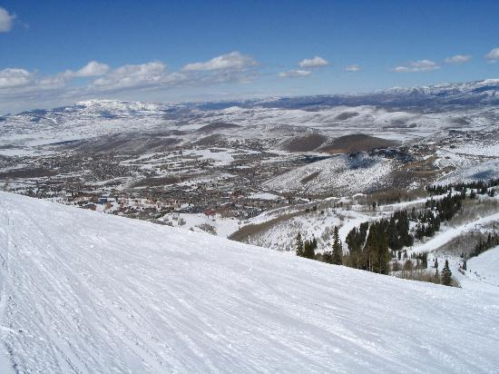 Park City, : The Slope Drops Out...