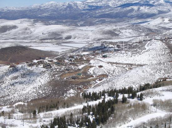 Park City, : Things Look Small From 10k Feet!