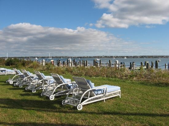Nantucket, MA: Enjoy the harbor view!