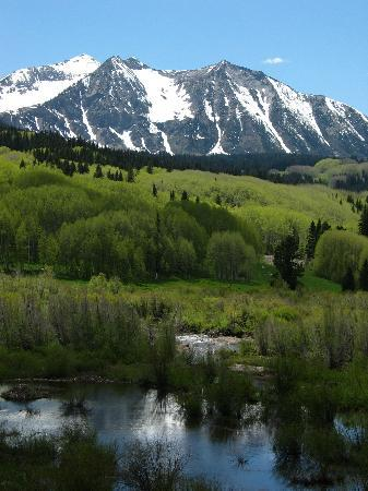 Crested Butte, CO: Beautiful mountain and marsh