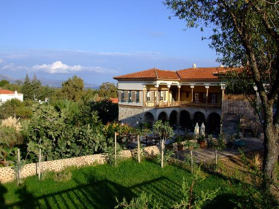 Mehmet Ali Aga Mansion: View from pool terrace