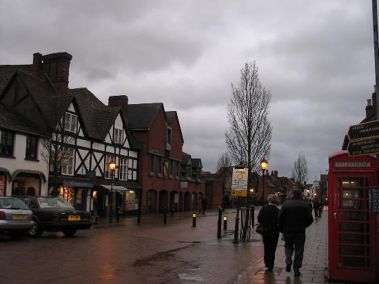 Stratford-upon-Avon, UK : Stratford on a rainy day