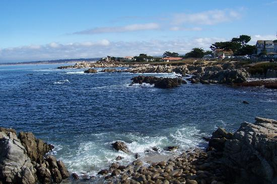 Pacific Grove, CA: View of Monterey Bay