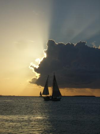 Key West, FL: Sunset from Mallory Square