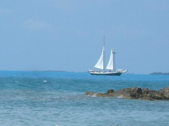 Key West, FL: View from Fort Zachery Taylor State Park