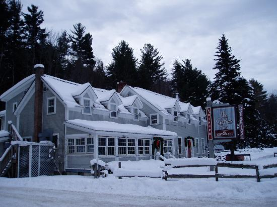 The Gables Inn: A snowy day