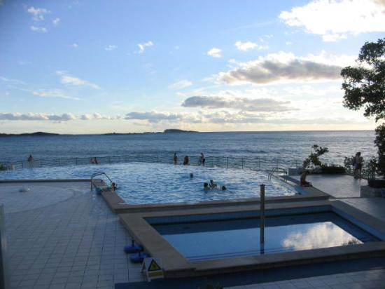 The Swimming Pool At Villas Plat And The Hotel Orphee Picture Of Plat Dubrovnik Tripadvisor