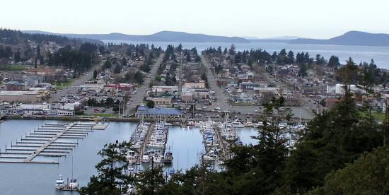 ‪‪Anacortes‬, واشنطن: Anacortes from above‬