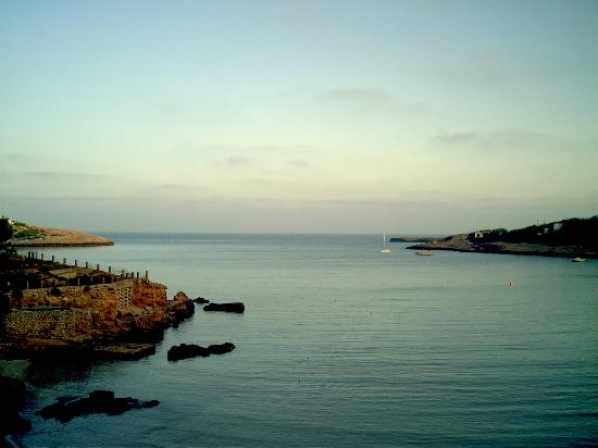 Portinatx, Spain: view from room terrace
