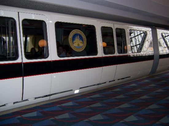 Monorail At Contemporary Resort Picture Of Walt Disney