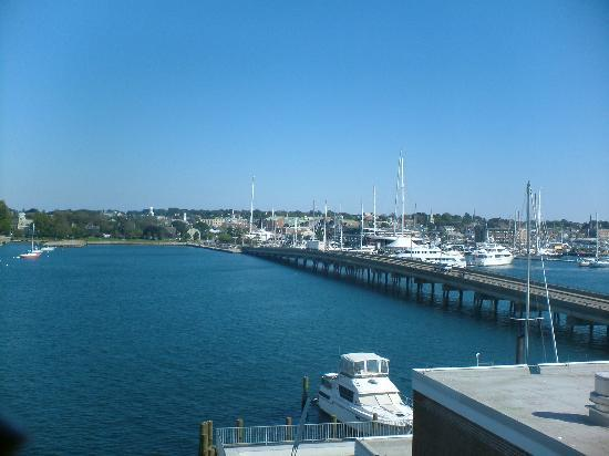 Newport, RI : Bay from Goat Island