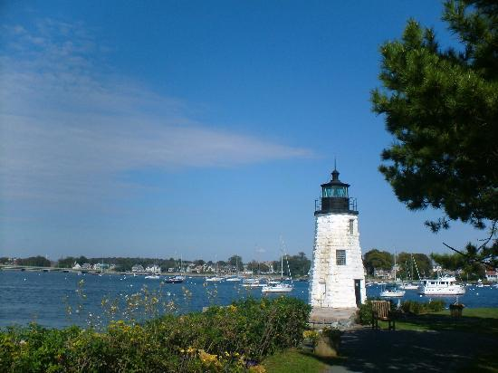 Newport, RI : Lighthouse at the Hyatt Reency
