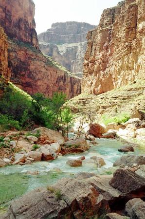 Colorado River side canyon near Supai