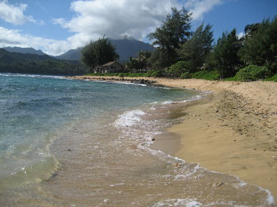 Hanalei Colony Resort: Beach in front of condo