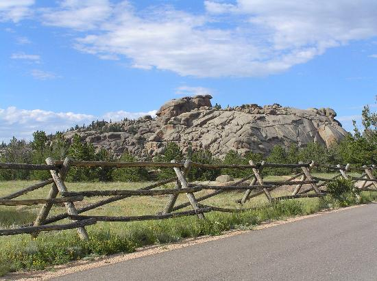 ‪‪Laramie‬, ‪Wyoming‬: Granite Formation‬
