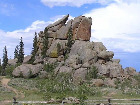 Laramie, WY: Granite Formation