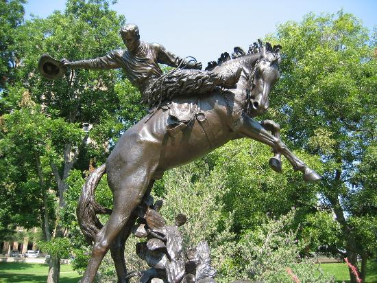 Austin, TX: The grounds of the Texas Capitol