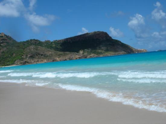 St. Jean, St. Barthelemy: saline beach