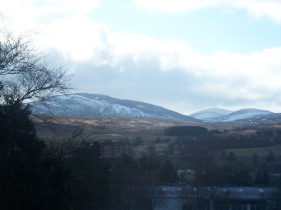 Kingussie, UK: view from my room