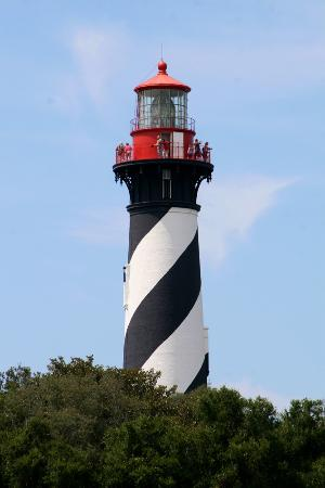 Sint-Augustinus, FL: St. Augustine Lighthouse.
