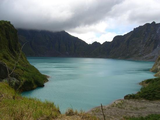 Luzon, Philippines: Crater of Mount Pinatubo