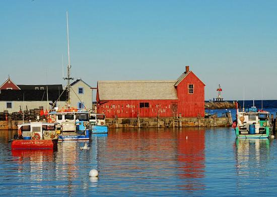 Rockport, MA : Motif--another View 