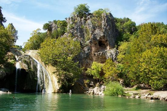 Davis, : Turner Falls