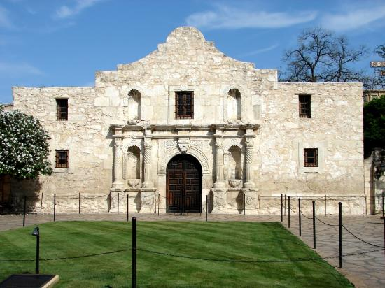 -, : The Alamo