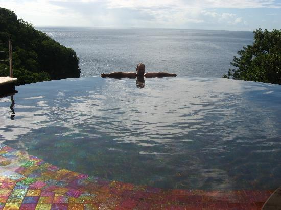 Jade Mountain Resort: Infinity Pool JC1