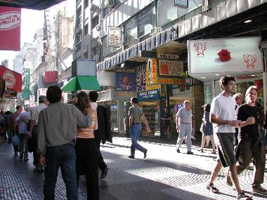Florida Street, a pedestrian shopping venue