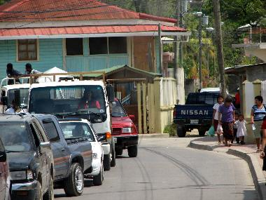Street in Coxen Hole