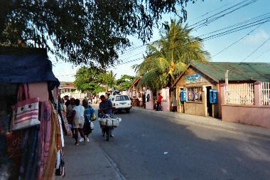 Main Street in Coxen Hole