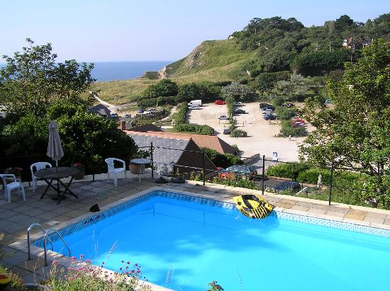 The Cromwell House Hotel: Towards Lulworth Cove