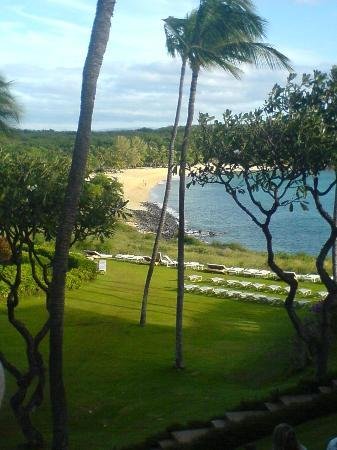 Lanai City, Havai: View from our room